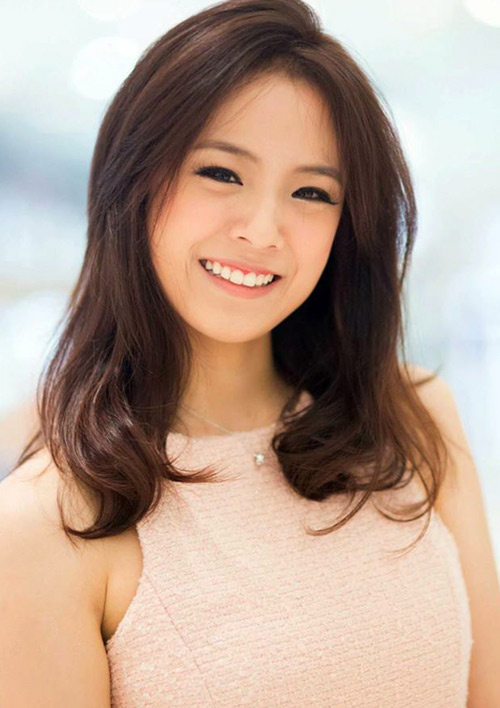 5 hot girl dep nhat thai lan va thoi trang toc dang hoc hoi - 10