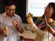 Tin tức - Tâm sự của cô giáo dạy giáo dục giới tính bằng… dưa chuột