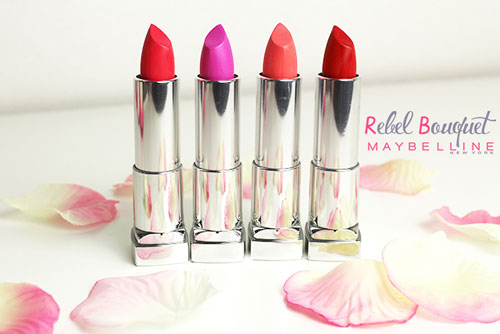 danh gia thoi son mau muot moi maybelline rebel bouquet - 12