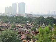 Tin tức - Ảnh: Những nghĩa địa lọt thỏm giữa phố phường Hà Nội