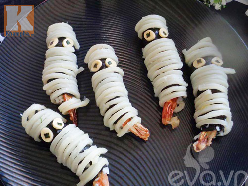 sushi tom hinh xac uop holloween cho be - 9