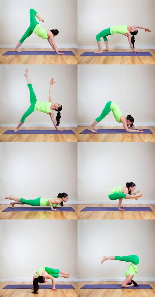 8 bai tap yoga tai nha cho dang xinh chang me tit - 1