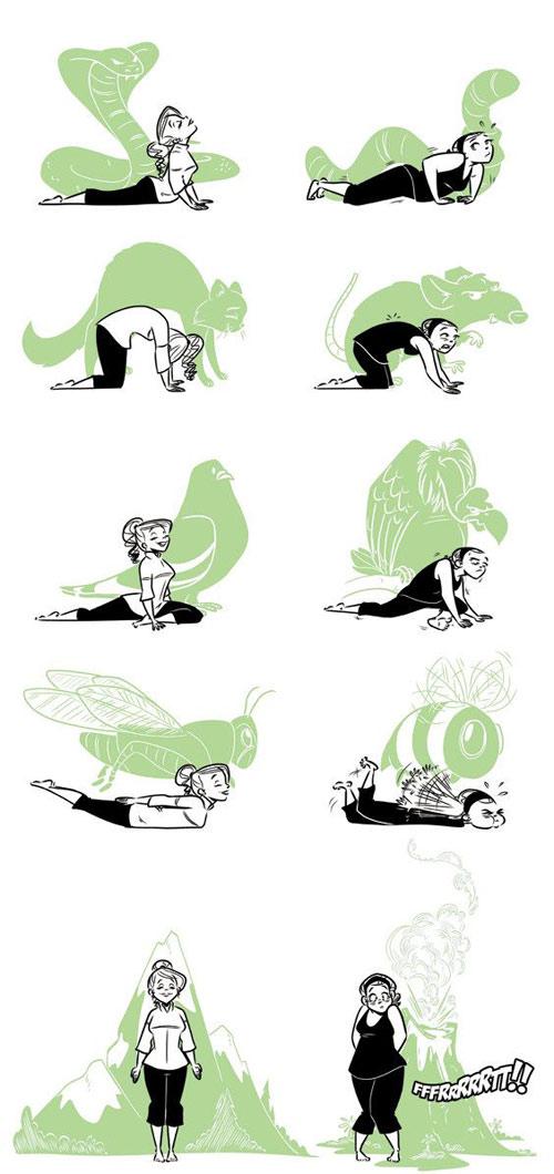 8 bai tap yoga tai nha cho dang xinh chang me tit - 2