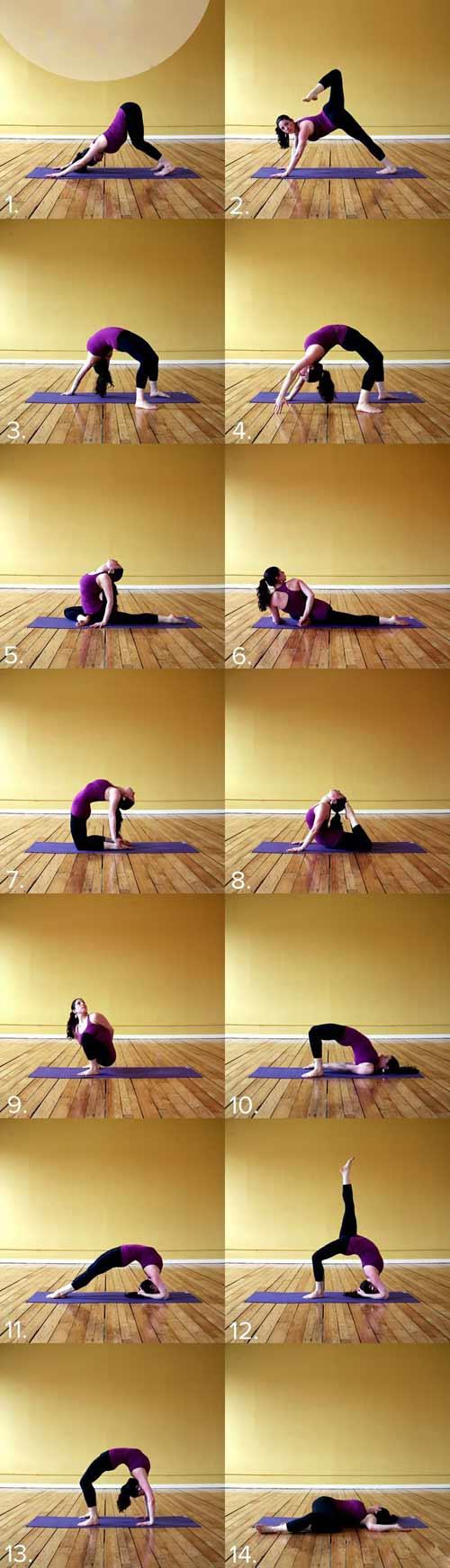 8 bai tap yoga tai nha cho dang xinh chang me tit - 3