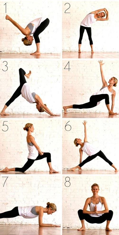 8 bai tap yoga tai nha cho dang xinh chang me tit - 5