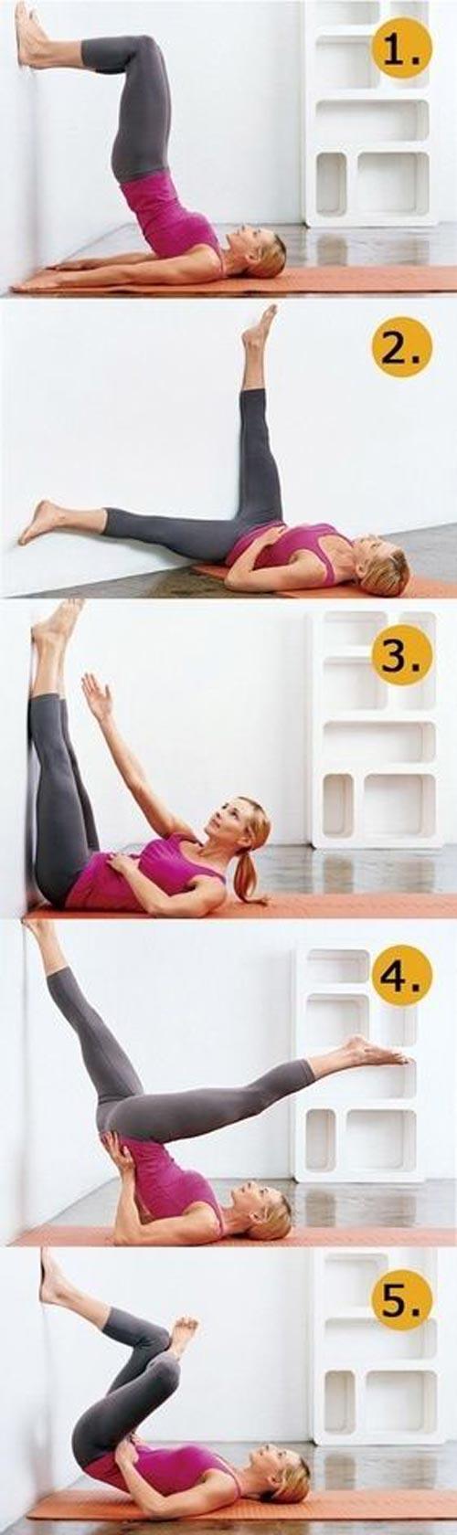 8 bai tap yoga tai nha cho dang xinh chang me tit - 7