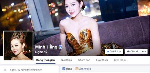 "ha ho bi ""danh bai"" khoi top 10 sao dong fan nhat facebook - 6"