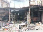 Tin tức - Hà Nội: Cháy cửa hàng, chủ nhà vẫn ngủ say trên tầng 2