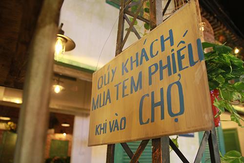 """den """"pho ngon"""" thu cam giac mua hang bang tem phieu - 1"""