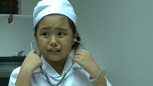 "tap 22 bo oi: cuoi bo voi man kham benh ""tim khong dap"" cua bi beo - 2"