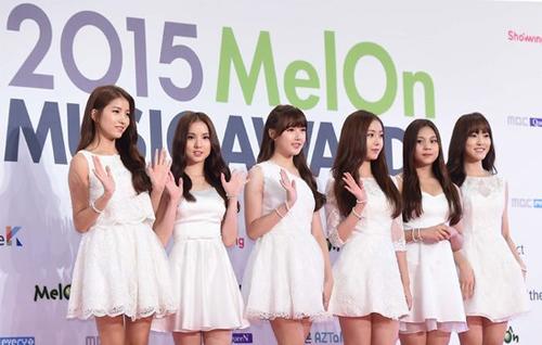 yoona xinh nhu mong tren tham do mma 2015 - 8