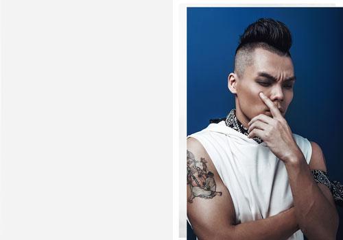chang dj viet gay an tuong manh voi style bui bam - 3