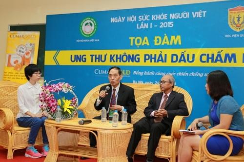 "ung thu khong co nghia la ""ban an tu hinh"" - 2"