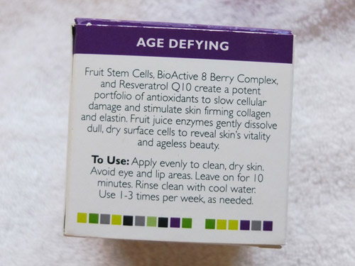 danh gia mat na andalou bio active 8 berry fruit enzyme mask - 2