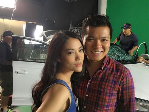 "angela phuong trinh phot lo scandal hon ""canh sat dep trai"" - 13"