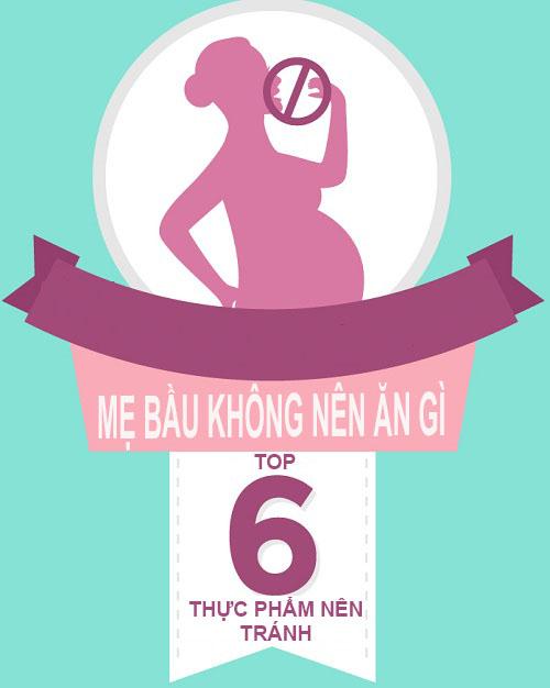 'diem danh' nhung thuc pham cam ky voi me bau - 1