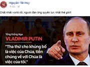 """Tin tức - Sự thật lời tuyên chiến với khủng bố """"gây bão"""" của Putin"""