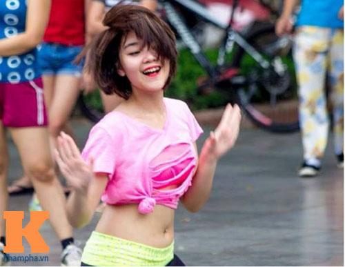 hot girl ha thanh 'vit hoa thien nga' nho zumba - 2