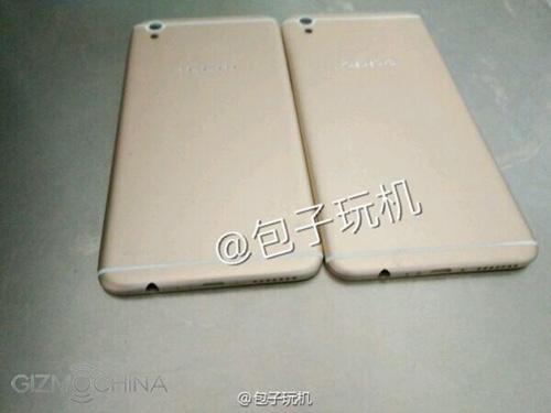 ro ri smartphone giong iphone 6 plus cua oppo - 1