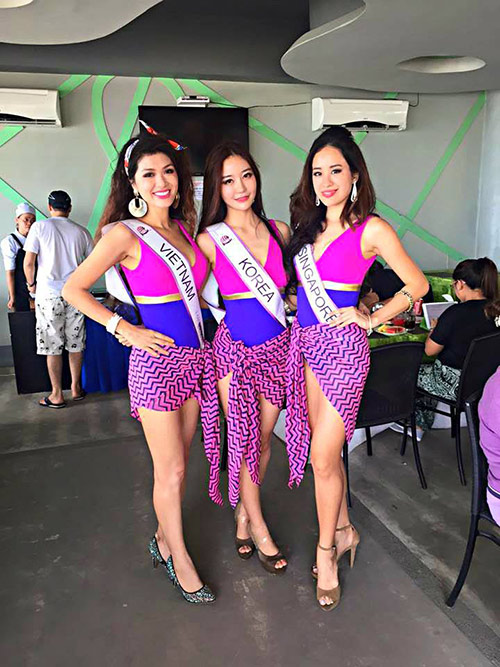 oanh yen lot top 5 bikini cuoc thi pancontinental international 2015 - 1