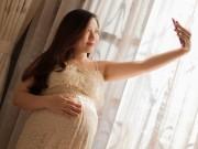 Bà bầu - Bộ ảnh bầu ngay trước ngày sinh chồng chụp tặng vợ