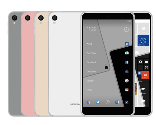 ro ri smartphone chay android va windows 10 mobile cua nokia - 1