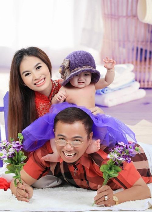 """8 ong bo showbiz viet vuong canh """"cha gia con mon"""" - 5"""