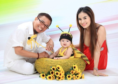 """8 ong bo showbiz viet vuong canh """"cha gia con mon"""" - 6"""