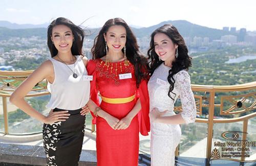 lan khue co kha nang lot vao top 6 miss world - 2