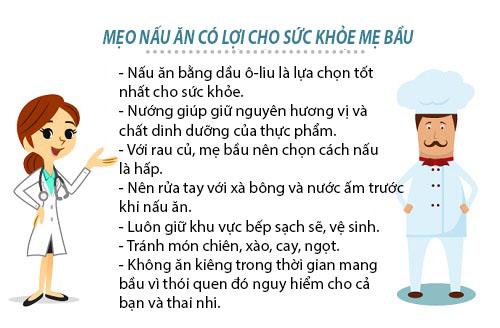 thuc don 'chuan khong can chinh' cho me bau - 6