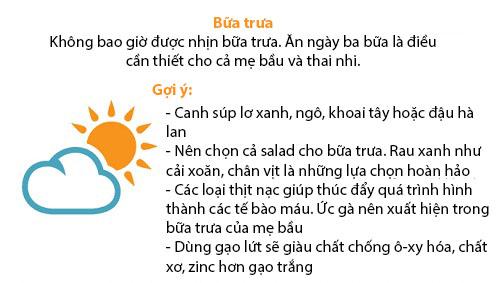 thuc don 'chuan khong can chinh' cho me bau - 8