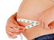 Bà bầu - 8 dấu hiệu chứng tỏ mẹ bầu đang tăng cân vượt chuẩn