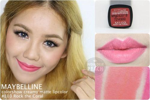 danh gia maybelline color show creamy matte lipcolor - 5
