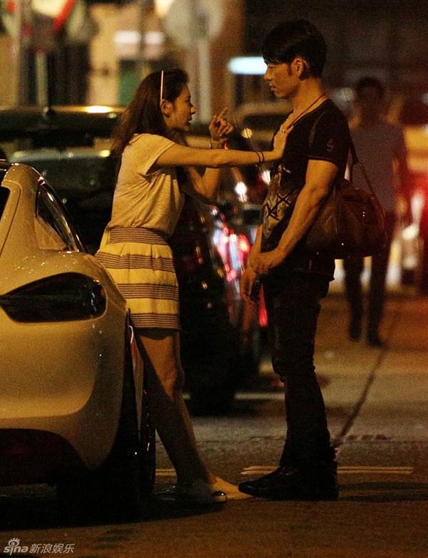 sao hongkong doi nhay khoi xe vi cai nhau voi ban trai - 5