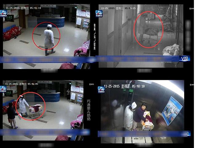 Rùng mình cảnh giả y tá bắt cóc trẻ sơ sinh ngay trong viện