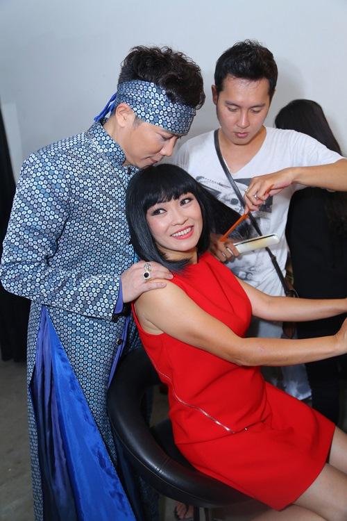 phuong thanh tham gia gameshow cua jimmii nguyen - 12