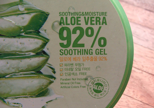 danh gia hu gel lo hoi nature republic soothing moisture aloe 92% soothing gel - 5