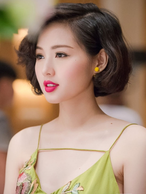 "nam 2015 hang loat my nhan viet quyet dinh ""xuong toc"" - 9"