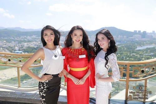 ngam nhan sac cua lan khue tai miss world 2015 - 7