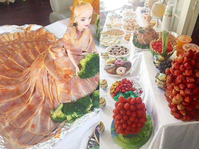 Mẹ Sài thành chi 10 triệu tự nấu tiệc sinh nhật '5 sao' cho con
