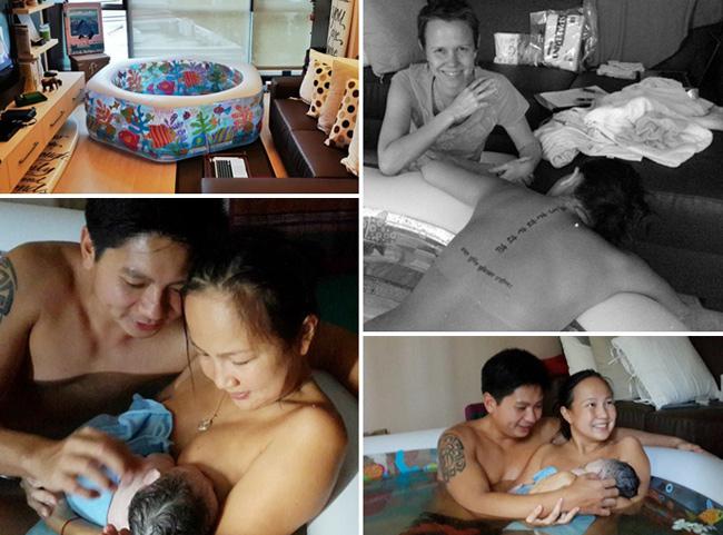 Aisa Locsin-Winternitz là một giáo viên dạy yoga ở Philippines. Có lẽ trong suốt thời gian mang thai cô vẫn duy trì việc tập luyện đều đặn nên giữ được sức khỏe tốt. Mặc dù sinh con dưới nước chưa được phổ biến ở đất nước này nhưng Aisa Locsin-Winternitz vẫn chọn với hy vọng sẽ có những trải nghiệm khác lạ.