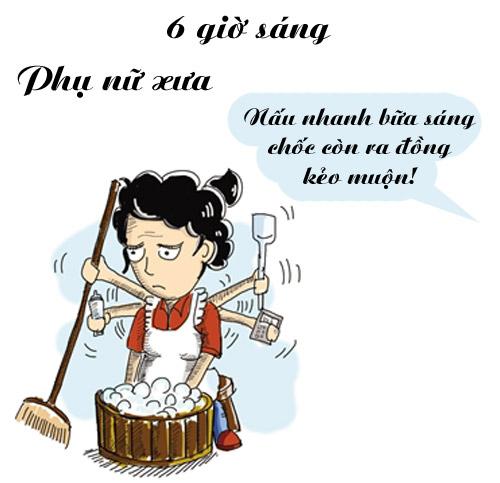 'rat chuan' su khac nhau giua phu nu xua va nay... - 5