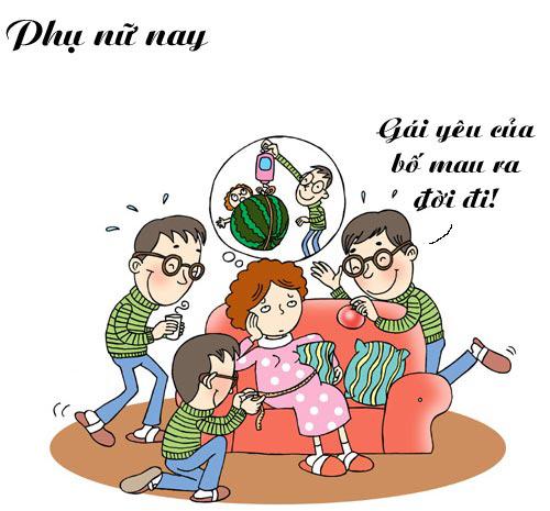 'rat chuan' su khac nhau giua phu nu xua va nay... - 10