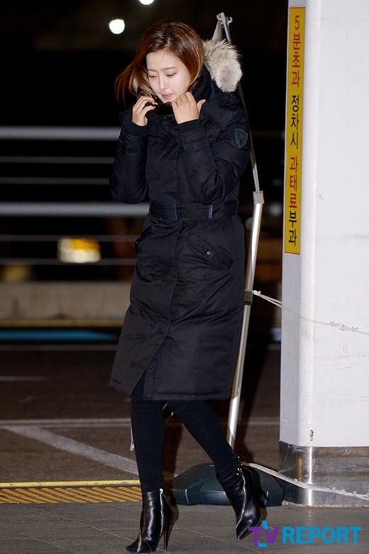 kim hee sun co ro trong gio lanh tai san bay - 1