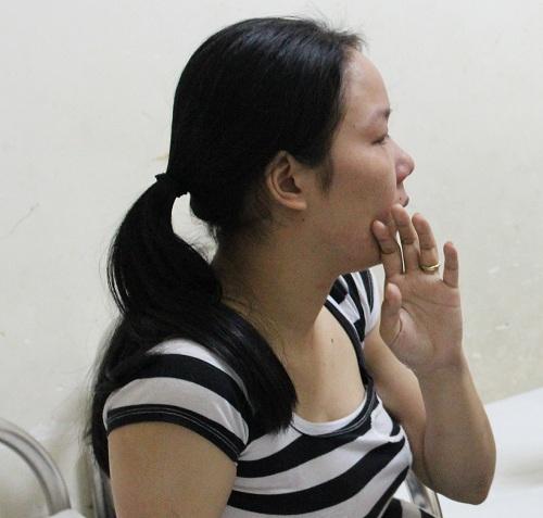 cháu bé 8 tháng tuỏi nhạp viẹn nghi bị bạo hành ỏ nhà trẻ - 4