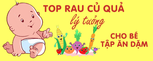 top rau cu qua ly tuong cho be tap an dam - 1