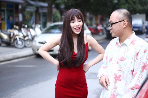 """hot girl linh miu thu suc voi sitcom nhieu """"canh nong"""" - 7"""