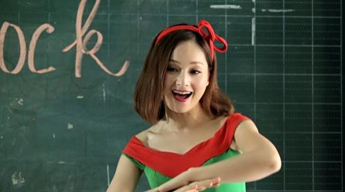 """lan phuong """"mat an mat ngu"""" lam mv don giang sinh - 7"""