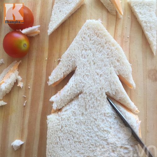 2 mon banh sandwich hinh cay thong noel cho be - 3