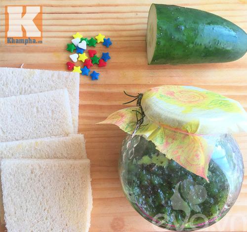 2 mon banh sandwich hinh cay thong noel cho be - 6